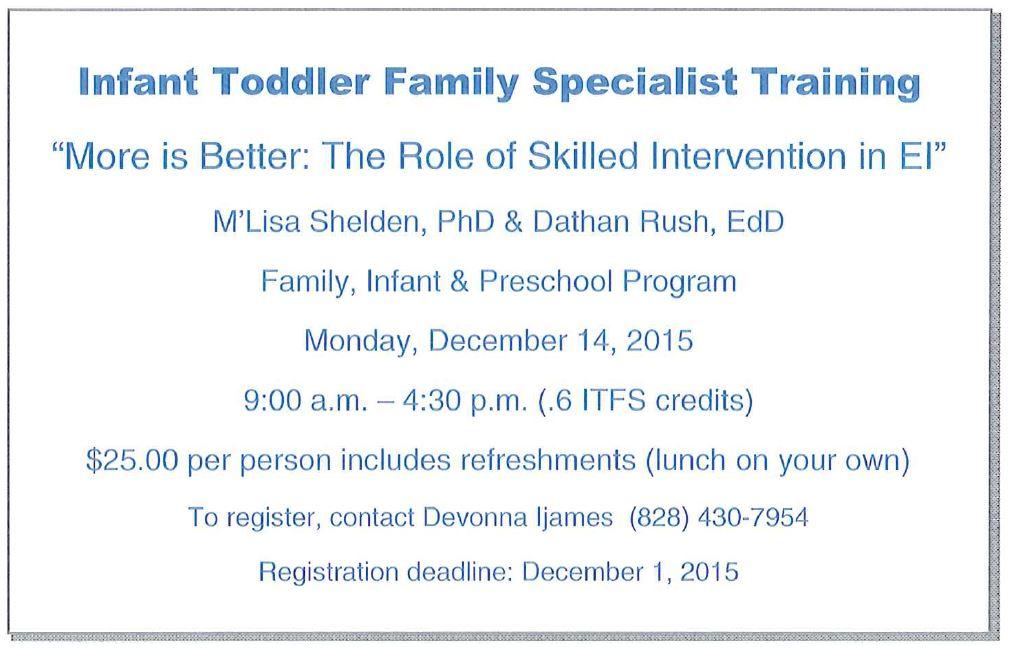 ITFS Training Event Pic