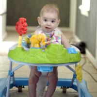 Baby in Walker