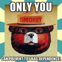 Smokey Toy Bag
